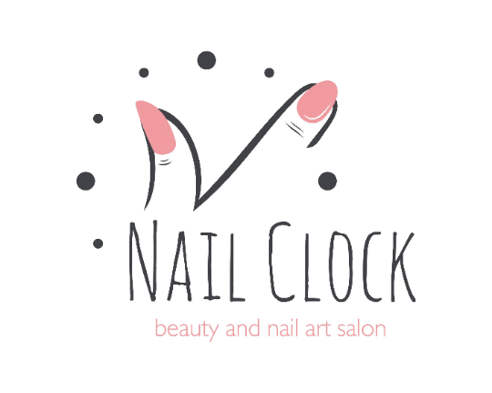 Beauty Salon Logo, Nail Art Salon Logo Design, Premade Logo - Webvizion Digital - No.1 Web Services Store