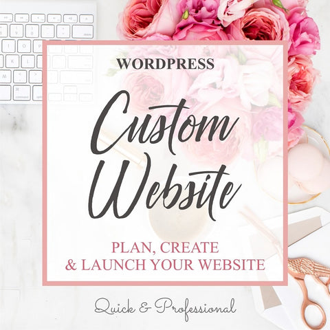 Wordpress Custom Website - Webvizion Digital - No.1 Web Services Store