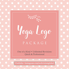 Yoga Logo Package - Webvizion Digital - No.1 Web Services Store