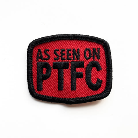 As Seen On PTFC Patch