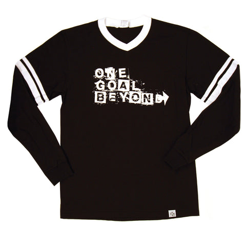One Goal Beyond Long Sleeve Ringer Tee