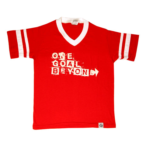 One Goal Beyond Short Sleeve Ringer Tee