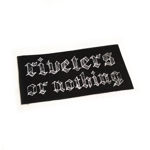 Riveters or Nothing Patch