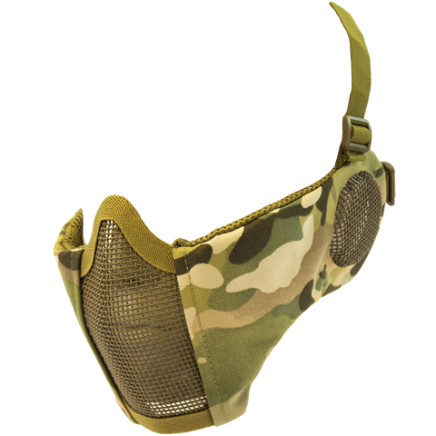 NP MESH LOWER FACE SHIELD V3 - MULTICAM