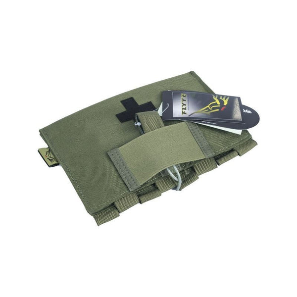 MEDICAL FIRST AID KIT POUCH - OLIVE DRAB