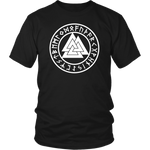 Valknut with Runes T-Shirt