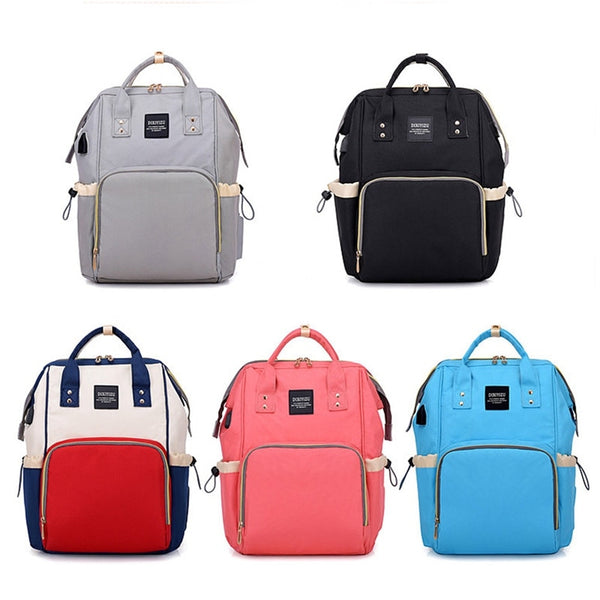 2edde94fe487fd Buy Baby Diaper Bags With USB Interface- Baby Changing Backpack ...