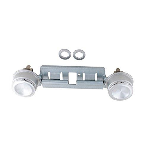 Podoy WB29K17/WB16K10026 Gas Range Double Burner Assembly for GE Replacement Parts