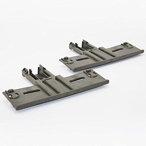 Non OEM W10350376SAP Upper Rack Adjuster 2 Pack Replaces W10350376 For KitchenAid JennAir Whirlpool
