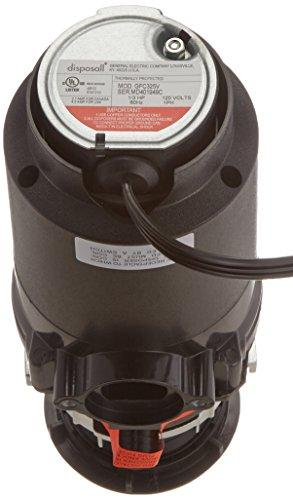 GE GFC325V .33 Horsepower Continuous Feed Disposal Food Waste Disposer with Power Cord attached