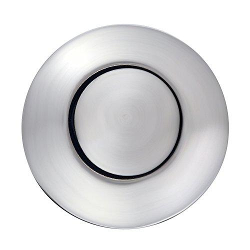 Air Activated Switch Button with Air Hose, Sink Garbage Disposal Parts (POLISHED CHROME)