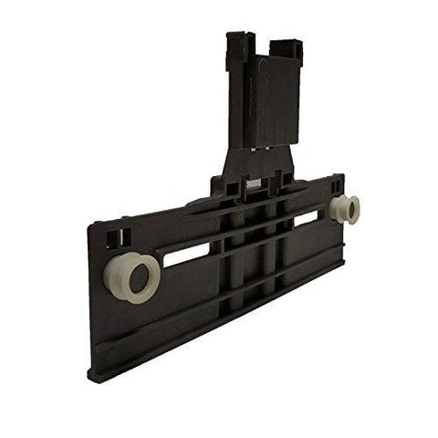 W10350376 Dishwasher Top Rack Adjuster w/ 0.90 Inch Diameter Wheels (Redesigned for Heavy Duty Wheel Support)