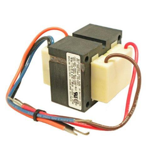 TRANSFORMER 4 HOLE OEM MOUNT 208/230 VOLT PRIMARY - 24 VOLT SECONDARY - 40 VA - REPLACES RHEEM RUUD WEATHERKING 46-23115-02 by OneTrip Parts?