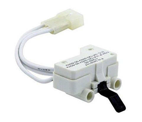Dryer Door Switch for 3406109 3406107 Whirlpool, Kenmore, Sears, Maytag, Roper, Estate