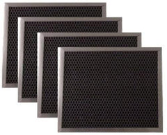 Range Hood Charcoal Filter for Broan 97007696 6105C 4-Pack