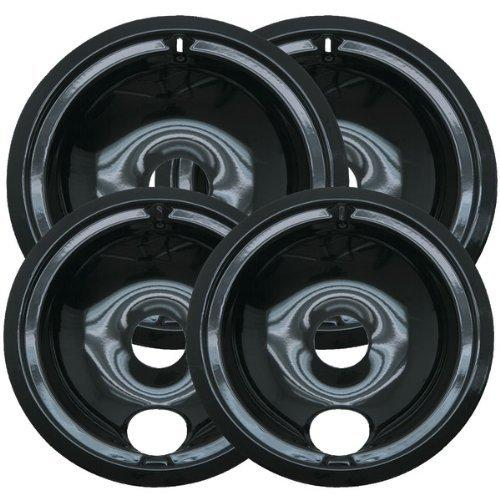 2 of WB31M20 and 2 of WB31M19 GE Range Cooktop Porcelain Drip Pan Bowls Model: WB31M19 & WB31M20 2 each
