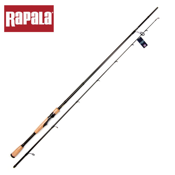 Rapala  Carbon Lure Fishing Rod 2.13m Two Tips M/ML/MH Spinning Rod For Baitcasting Lure Fishing