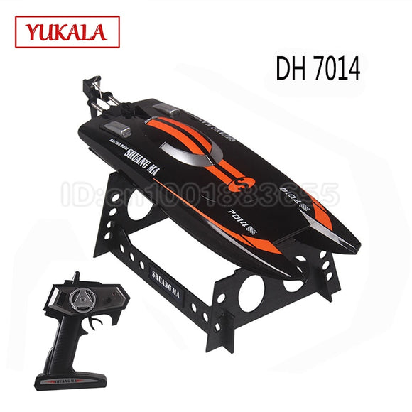 High Speed 2.4G 25KM/H Racing RC Boat ship radio control servo Speedboat  remote control