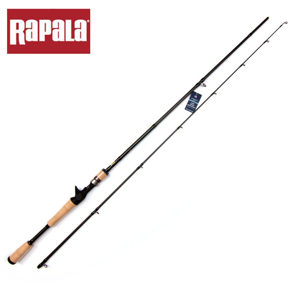Rapala Brand SKITTER Series Tetra Axial Carbon Spinning Fishing Rod M ML Power 1.98m 2.13m 2 Segment Bait Casting Rod