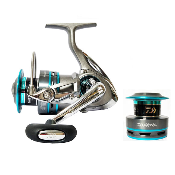 Original DAIWA PROCASTER 2000A 2500A 3000A 4000A Spinning fishing reel 7BB saltwater r+Spare metal spool Fishing Reels