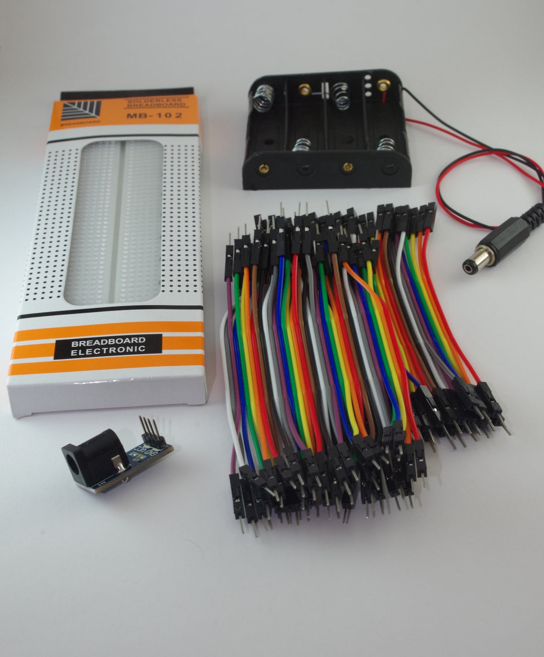 Kit introductorio de electrónica - Neurobots