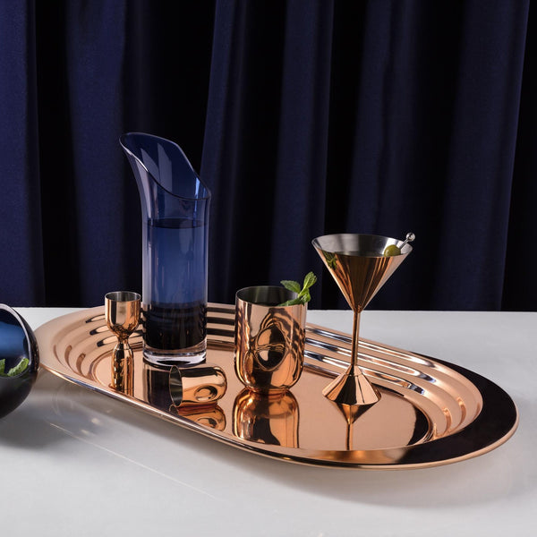 Tom Dixon Plum martini pohár