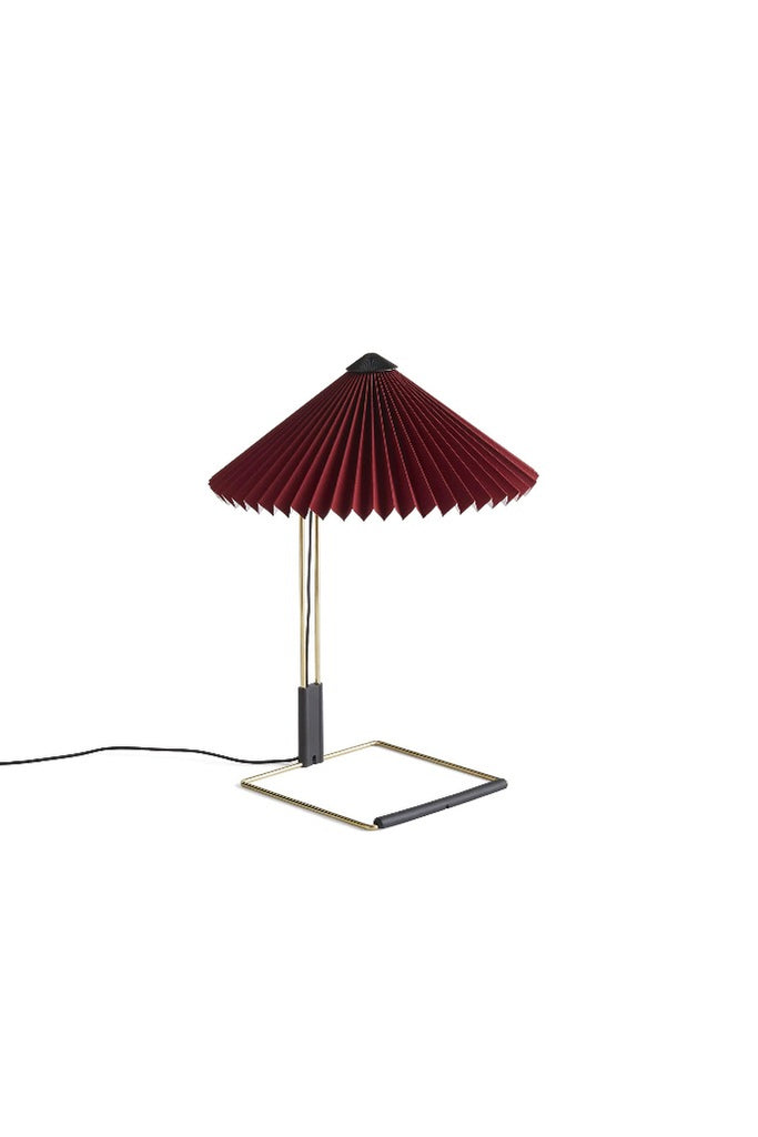 HAY Matin ocid-vörös asztali lámpa | Matin table lamp, oxide red | Solinfo Shop