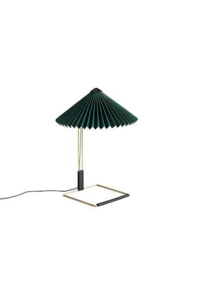 HAY Matin zöld asztali lámpa | Matin table lamp, green | Solinfo Shop