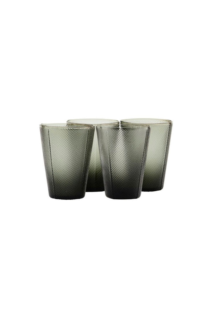House Doctor Milo pohár szett | Milo glass set | Solinfo Shop