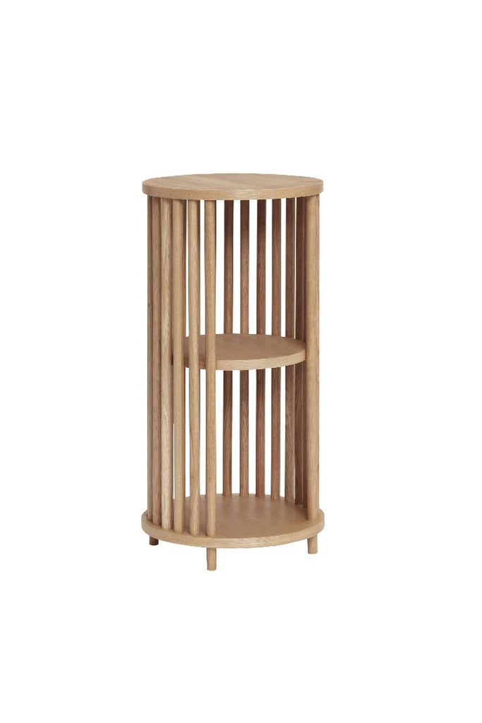 Hübsch Tölgy lerakóasztal | Oak side table | Solinfo Shop