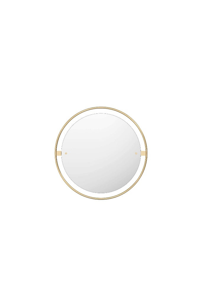 Menu Nimbus sárgaréz tükör ø60 | Nimbus mirror polished brass ø60 | Solinfo Shop