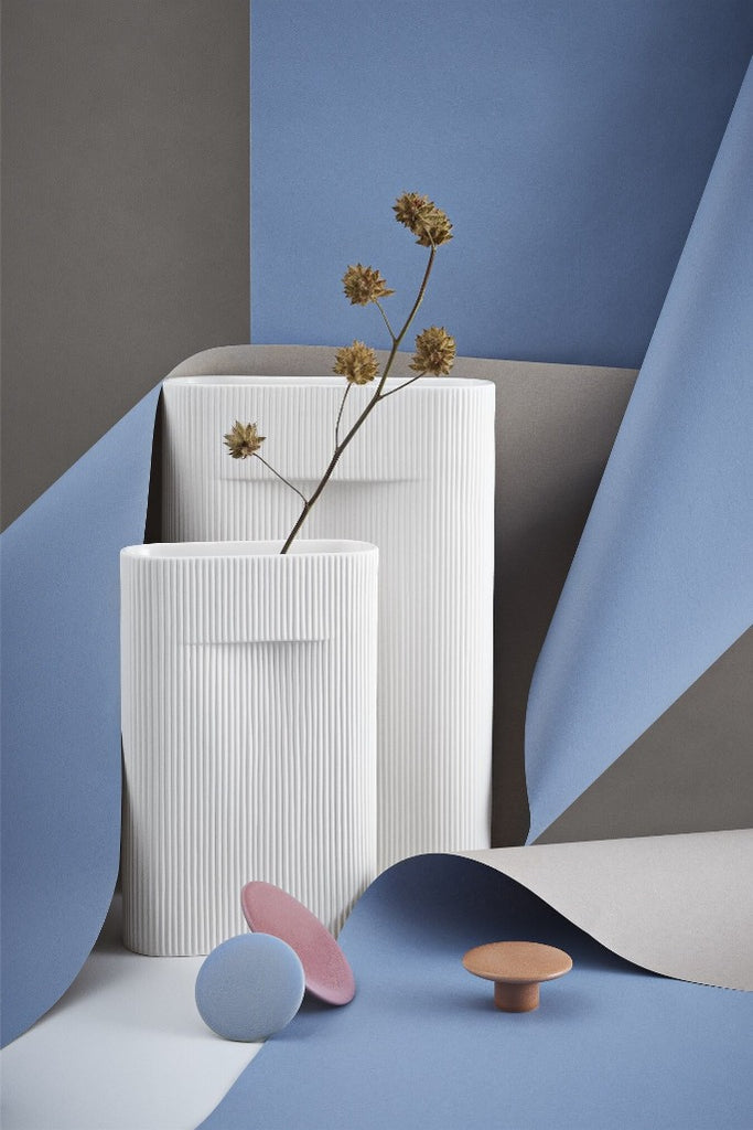 Muuto | Ridge törtfehér váza 35 cm | Ridge off white vase 35 cm | Solinfo Shop
