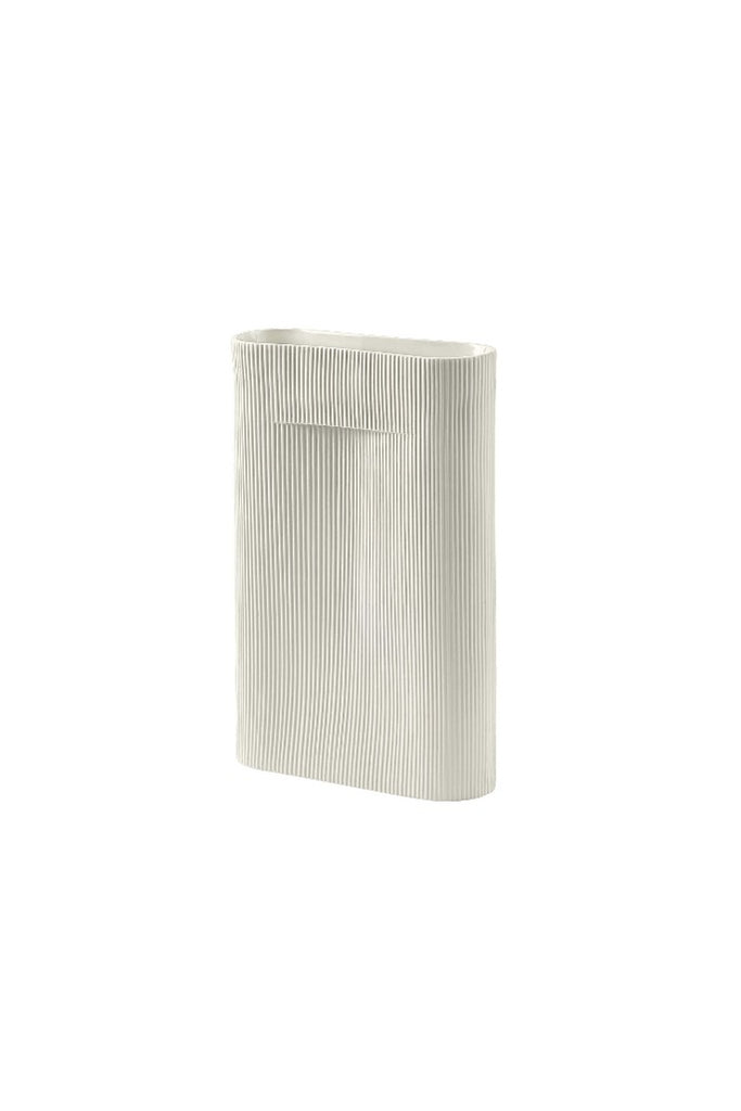 Muuto | Ridge törtfehér váza 48,5 cm | Ridge off white vase 48,5 cm | Solinfo Shop