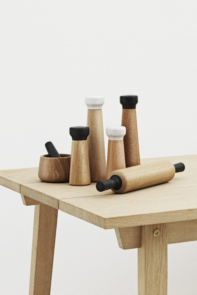 Normann Copenhagen Craft só és borsőrlő szett, Craft salt and pepper mill | Solinfo Shop
