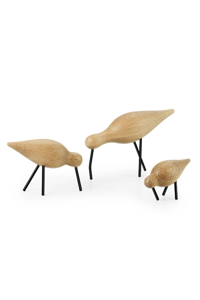 Normann Copenhagen Shorebird kőris, ash black group