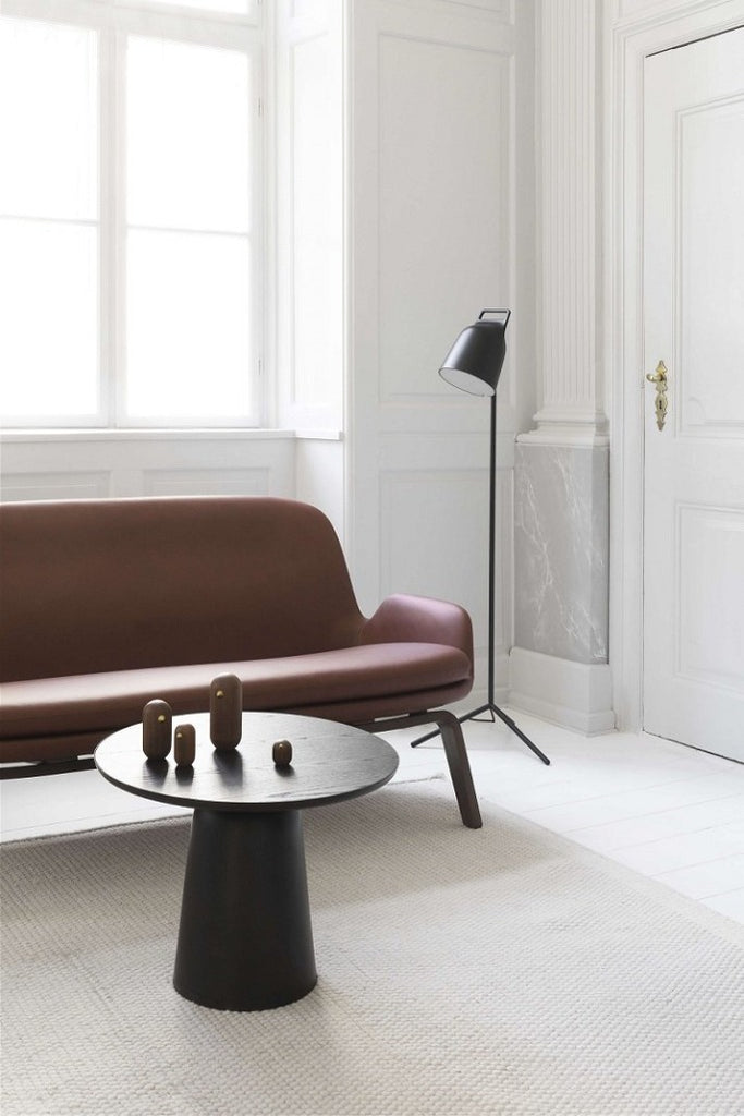 Normann Copenhagen Turn lerakóasztal fekete | Turn table black | Solinfo Shop