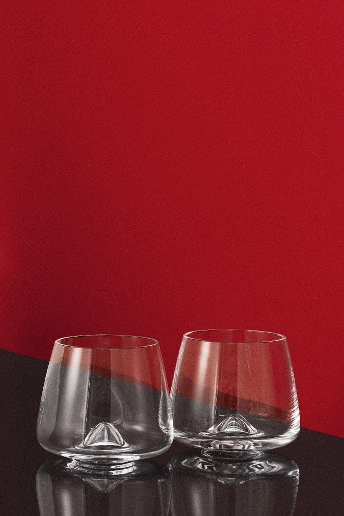 Normann Copenhagen whisky pohár szett, whiskey glass set