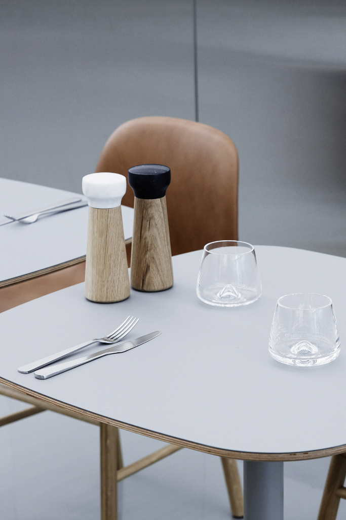 Normann Copenhagen whisky pohár szett, Craft sóőrlő borsörlő, whiskey glass set