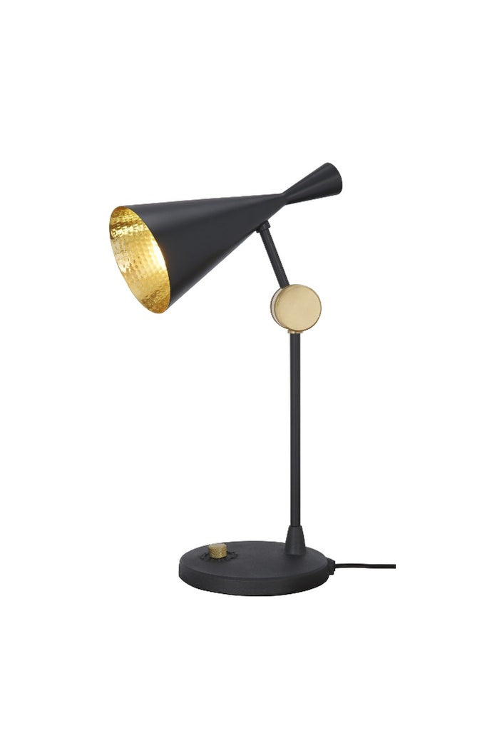 Tom Dixon Beat fekete asztali lámpa | Beat table light black | Solinfo Shop