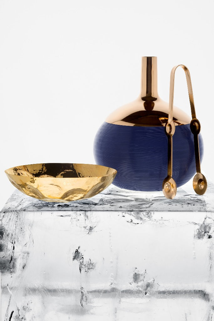 Tom Dixon, Plum, tongs, copper, jégkocka csipesz, réz