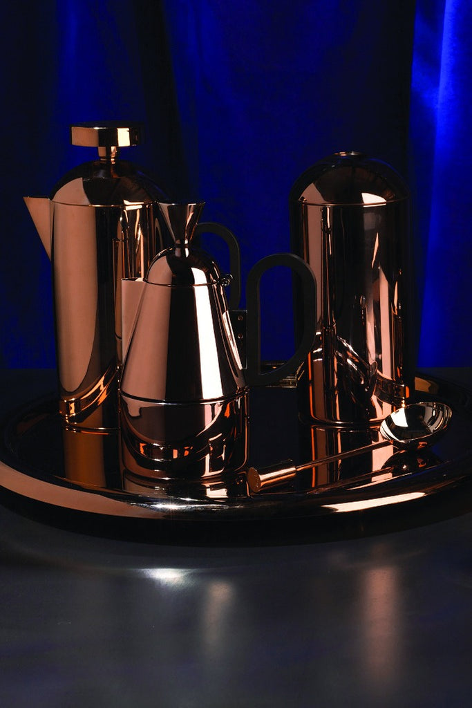 Tom Dixon, Brew Stove top coffee maker, copper, Brew Stove top kávéfőző, réz