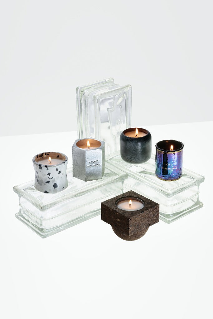 Tom Dixon, Materialism terrazzo, candle, Materialism illatgyertya
