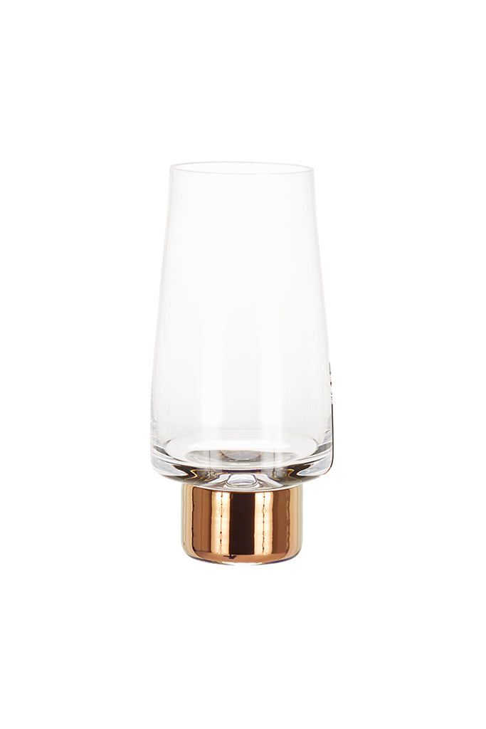 Tom Dixon Tank High Ball glasses, copper, cocktail, long drink, gin tonic, pohár, réz