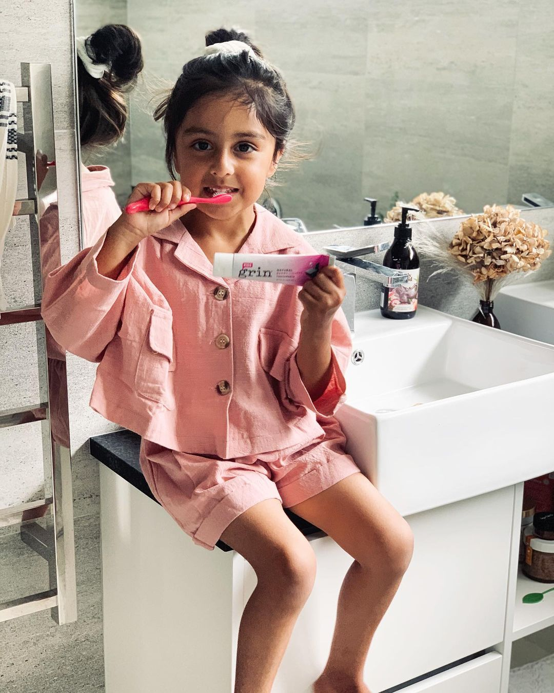 Best Kids Toothpaste Grin Natural Fluoride Free toothpaste