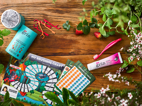 Why Australian moms love Grin Natural Kids Oral Care