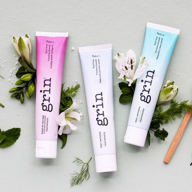 Grin Natural Toothpaste Set - Grin Natural Australia