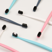 Grin Charcoal-Infused Bio Toothbrush - Four Pack