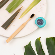 Grin Charcoal-Infused Bamboo Toothbrush - Grin Natural Australia