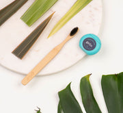 Grin Charcoal-Infused Bamboo Toothbrush Trio