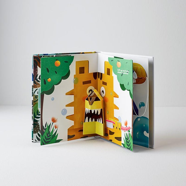 Grin Kids Brushing Pop Up Book - Grin Natural Australia
